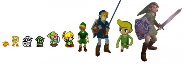 link_evolution-zelda